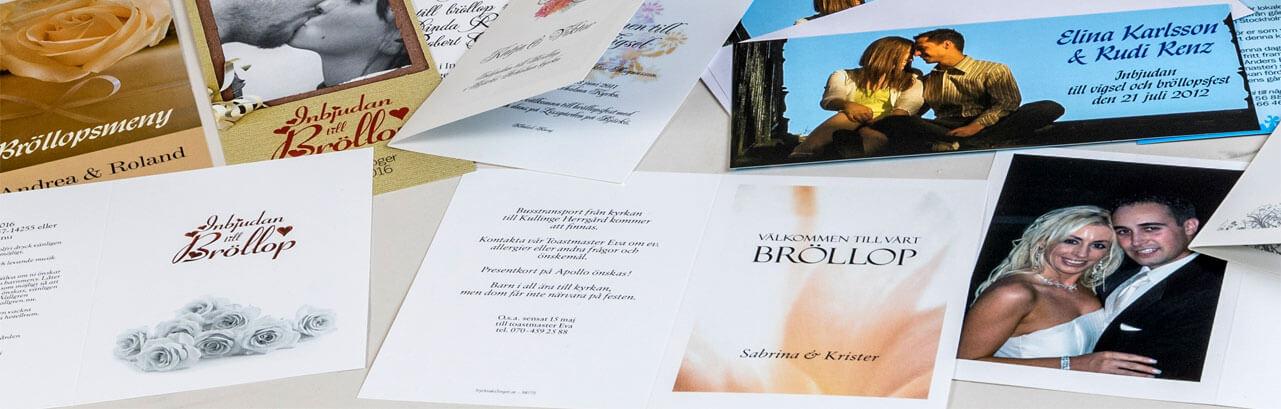 Inbjudningskort collage